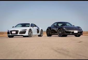 Audi & Porsche: gemeenschappelijke basis voor R8 en 911? #1