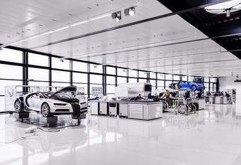 Zo bouwt Molsheim de Bugatti Chiron - fotospecial #1