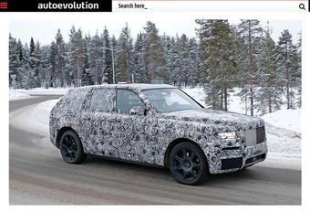 Rolls-Royce : Voilà le SUV ! #1