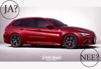 Krijgt de Alfa Romeo Giulia Sportwagon groen licht? #1
