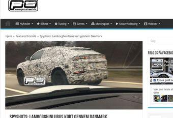 Lamborghini Urus: eerste foto #1
