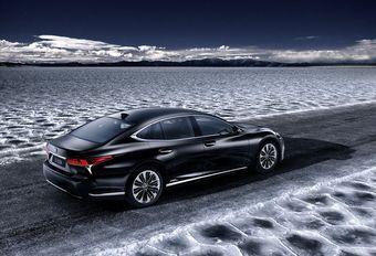 Lexus LS 500h : présentation à Genève #1