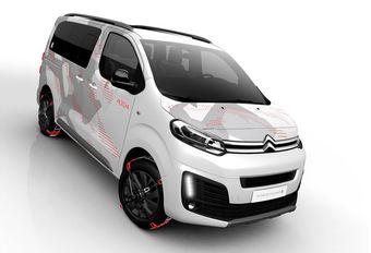 Citroën SpaceTourer 4x4 Ë Concept: start van de 'Ë'-lijn #1