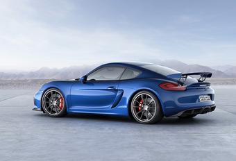Porsche Cayman GT4 krijgt RS-versie #1