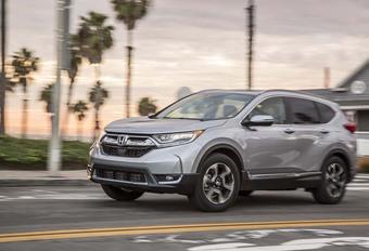 Honda verwacht geen groei meer van SUV's #1