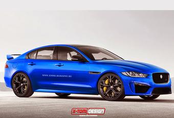 Jaguar maakt werk van XE SVR #1