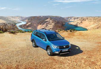 Dacia Logan MCV Stepway gaat in de modder spelen #1