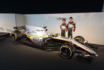 Blijft de Force India VJM10 een luis in de pels? #1