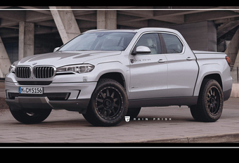 BMW blijft differentiëren, maar een X5 pick-up ?! #1