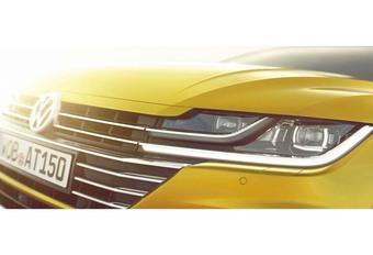 Volkswagen Arteon: teaser voor Genève #1