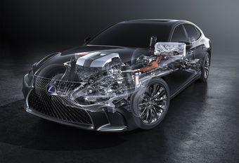 Lexus LS 500h : 140 km/h en mode électrique #1