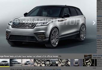 Range Rover Velar : il a fuité avant sa présentation #1