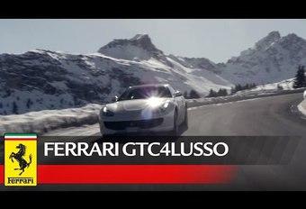 De Ferrari GTC4 Lusso in Courchevel #1