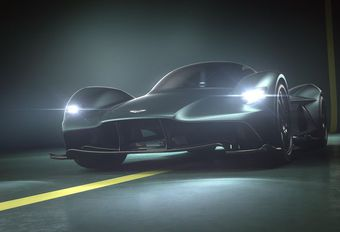 Aston Martin Valkyrie, dat is de naam van de AM-RB 001 #1