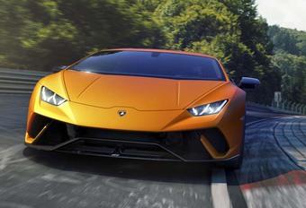 Lamborghini Huracan Performante, met gegoten koolstof #1
