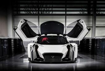 Vanda Dendrobium toont McLaren en Porsche de weg #1