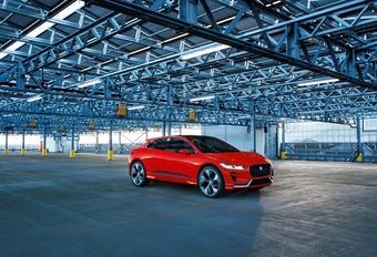 Jaguar I-Pace : nouvelle tenue #1