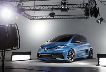Renault Zoé e-Sport Concept: losgeslagen stadsauto #1