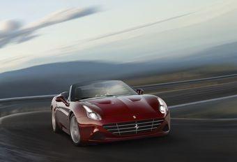 Ferrari herbekijkt de positie van de California #1