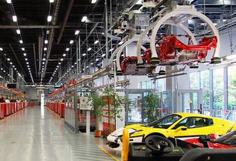 Ferrari plant een nieuw model #1