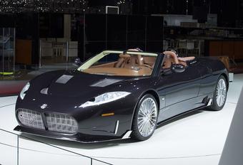 Spyker C8 Preliator Spyder krijgt Koenigsegg-motor #1