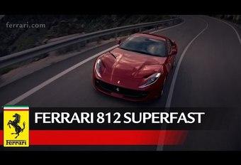 Ferrari 812 Superfast: het officiële introductiefilmpje #1
