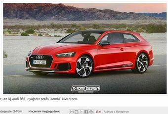 Audi RS5 Shooting Brake: waarom ook niet? #1