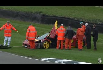 Video: Nick Mason crasht zijn McLaren F1 GTR #1