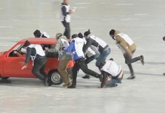 Car curling : nouveau sport russe #1
