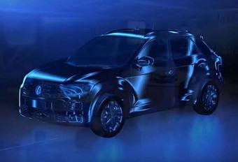 Volkswagen T-Roc : première image officielle #1