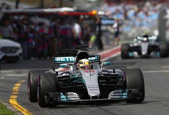 Zondag weer F1, Lewis Hamilton topfavoriet voor GP Australië #1
