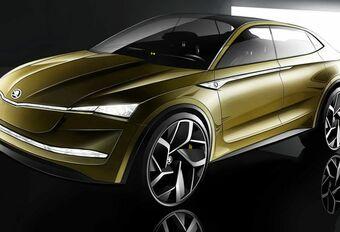 Vision E : le premier concept électrique de Škoda #1