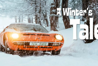 Wintersprookje in een Lamborghini Miura #1