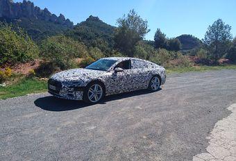 Audi A7 Sportback en A8 in Catalonië #1