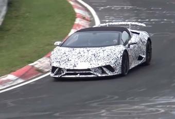 Lamborghini Huracan Performante in open lucht #1
