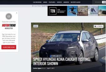 Hyundai Kona draait rondjes op de Nürburgring #1
