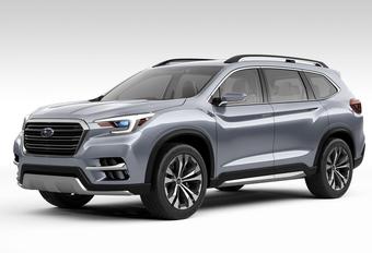 Subaru Ascent: SUV op Amerikaanse maat #1