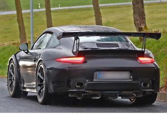 Porsche 911 GT2 RS staat in de startblokken #1