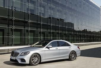 Mercedes : la Classe S restylée se dévoile #1