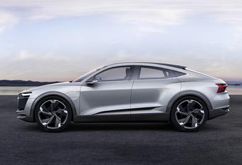 Audi E-Tron Sportback Concept is elektro-GT  #1