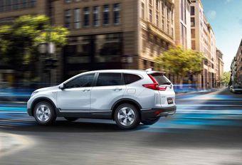Honda CR-V wordt hybride #1