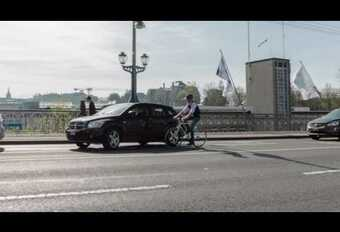Zwitserse campagne om fietsers te sensibiliseren #1