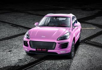 De roze Macan die geeneens een Porsche is #1