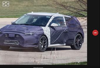 Hyundai Veloster: tweede generatie op komst #1