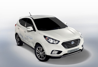 Hyundai ix35 Fuel Cell #1