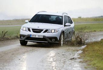 Saab 9-3X #1