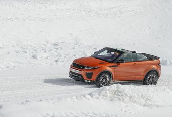 Range Rover Evoque Convertible : 4x4 x 4 places x 4 saisons	  #1