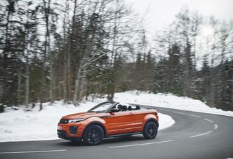 Test Range Rover Evoque Convertible