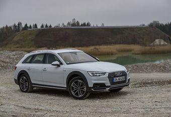 Audi A4 Allroad : plastiques et ultra Quattro  #1