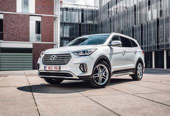 Hyundai Grand Santa Fe : Evolutions mineures #1